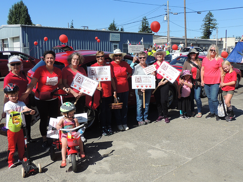 Zonta Coos Bay Area Red Car Parade